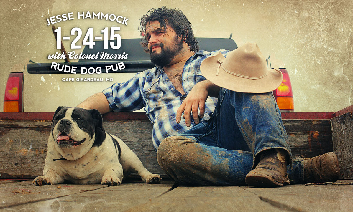 Jesse Hammock at Rude Dog Pub on 1-24-15