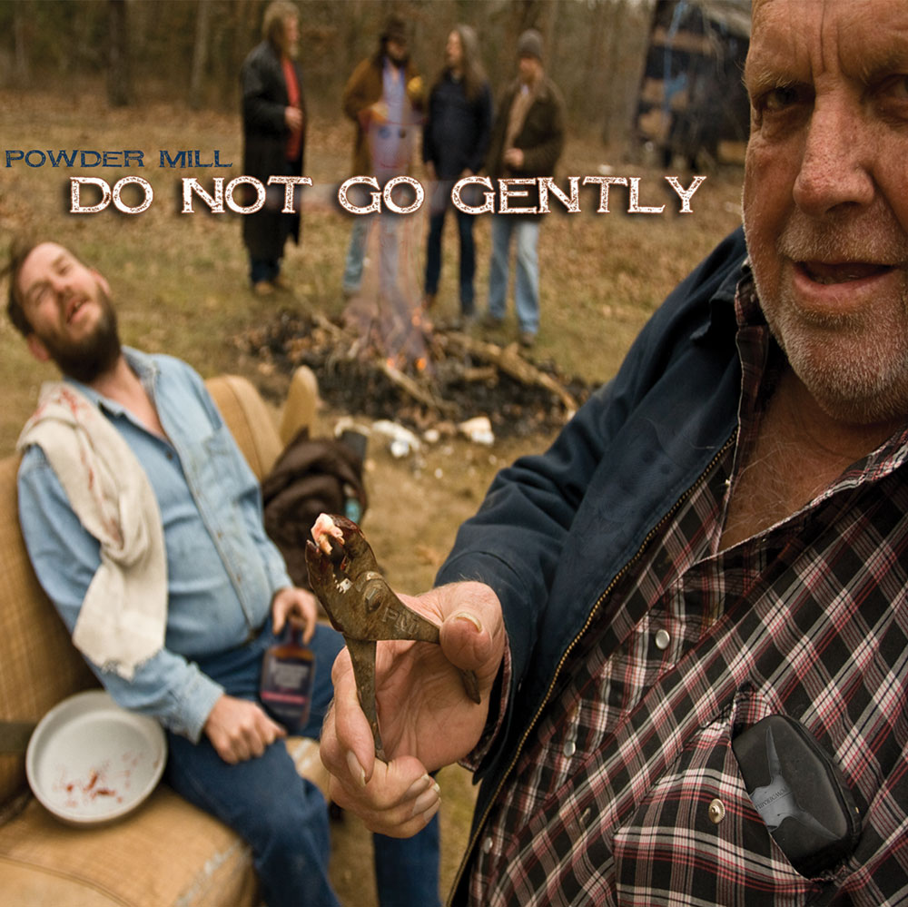 Album art for Powder Mill's Do Not Go Gently