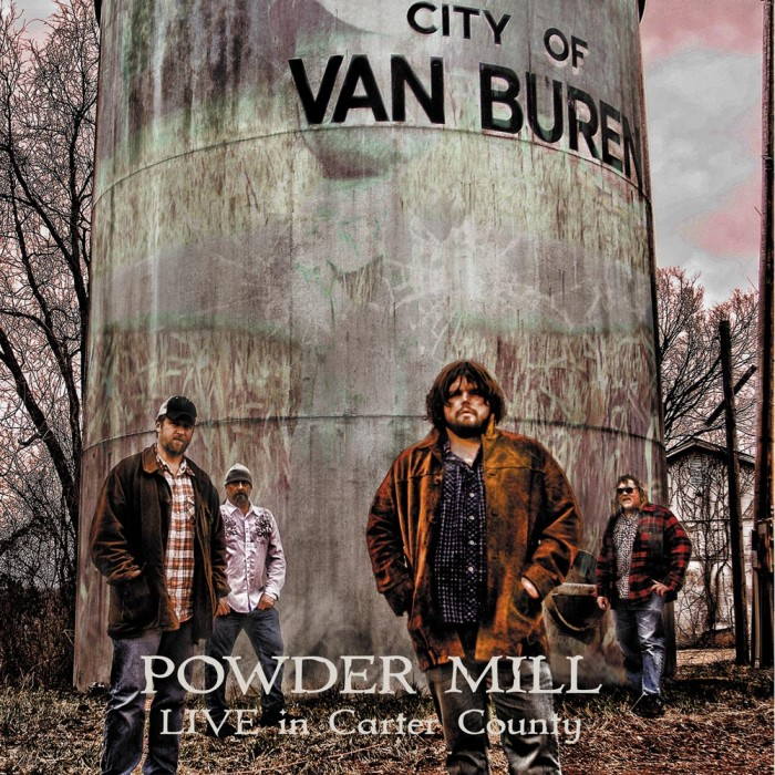 Album cover for Land of the Free by Jesse Hammock with Powder Mill