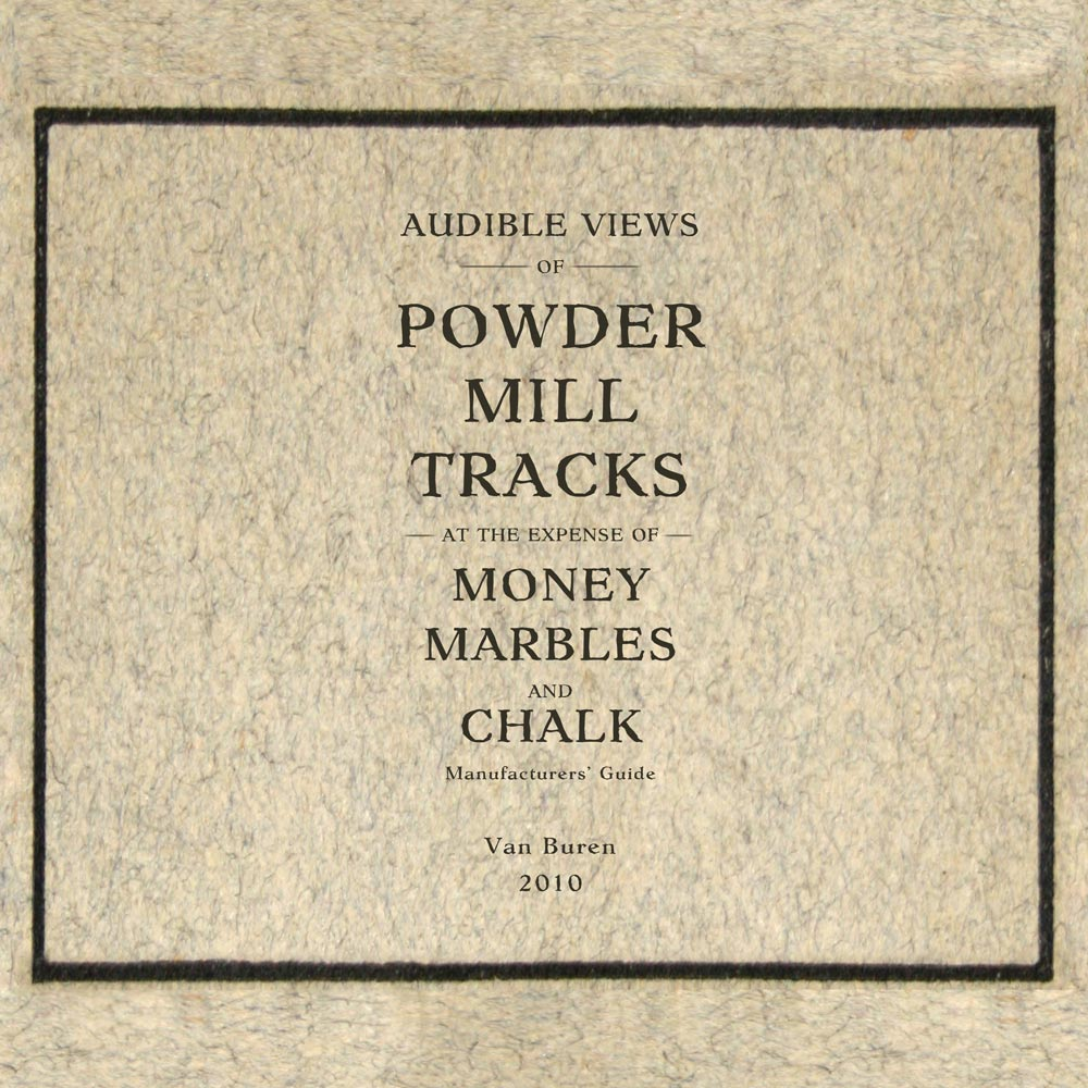 Album cover for Money Marbles and Chalk by Jesse Hammock with Powder Mill