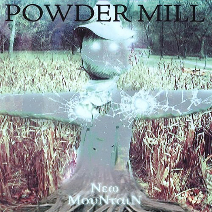 Album cover for New Mountain by Jesse Hammock with Powder Mill