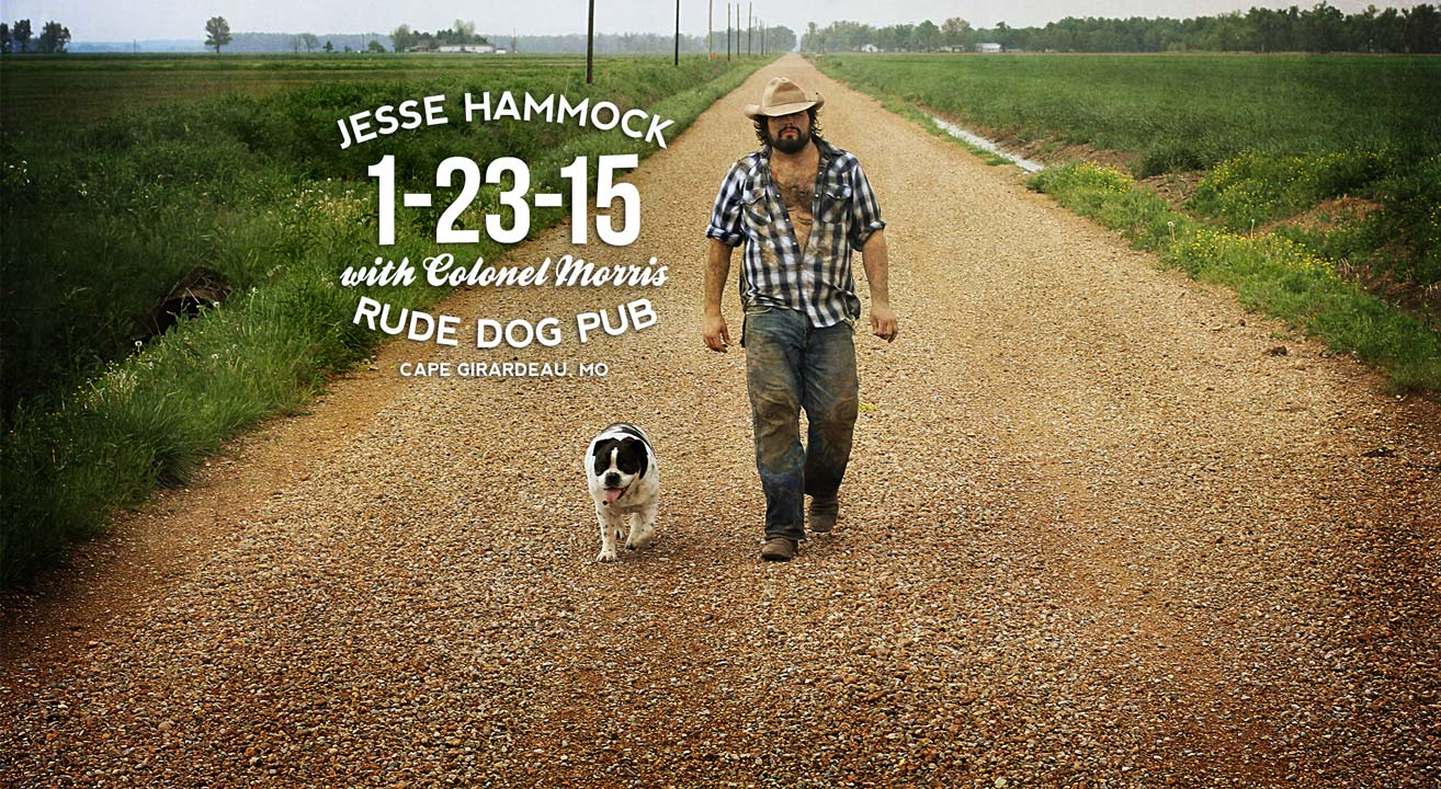 Jesse Charles Hammock, II at Rude Dog Pub on 1-23-15 in Cape Girardeau, MO